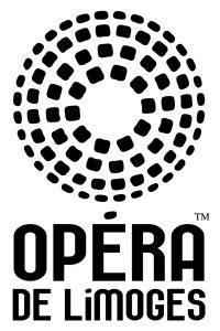 Logo Opéra de Limoges - NOIR (impression bureau)